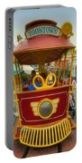 Jolly Trolley Disneyland Toon Town Portable Battery Charger
