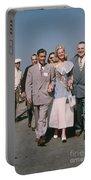 Jone Ann Pedersen Miss California June 1949 Portable Battery Charger