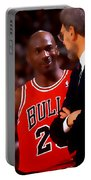 Jordan And Coach Portable Battery Charger