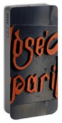 Jose Gasparilla Name Plate Color Portable Battery Charger