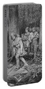 Joseph Brown Leading His Company To Nicojack, The Stronghold Of The Chickamaugas, Engraved Portable Battery Charger