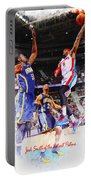 Josh Smith Of The Detroit Pistons Portable Battery Charger