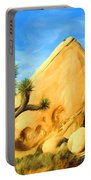 Joshua Tree Pyramids Portable Battery Charger