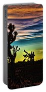Joshua Trees In Cima Valley Portable Battery Charger