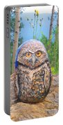 Journey Of Burrowing Owl Portable Battery Charger
