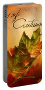 Joy Of Autumn Portable Battery Charger
