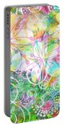Joyful Flowers By Jan Marvin Portable Battery Charger