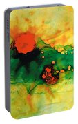 Jubilee - Abstract Art By Sharon Cummings Portable Battery Charger