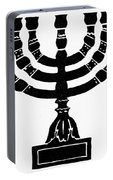 Judaism Candelabra Portable Battery Charger