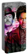 Jude Law And Robert Downey Jr Portable Battery Charger