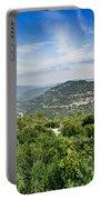 Judean Foothills Landscape Portable Battery Charger