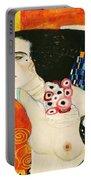 Judith II Portable Battery Charger by Gustav Klimt