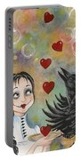 Juggler Of The Hearts Portable Battery Charger