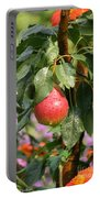 Juicy Fresh Pear Portable Battery Charger