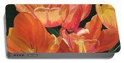 Julie's Tulips Portable Battery Charger