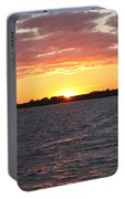 July 4th Sunset Portable Battery Charger