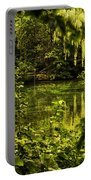 July Tranquil Indian Lake Portable Battery Charger