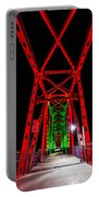 Junction Bridge - Red Portable Battery Charger