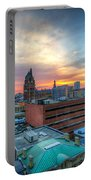 Juneau Town Sunset Portable Battery Charger
