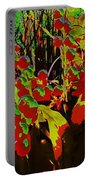 Jungle Abstract Portable Battery Charger