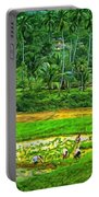 Jungle Homestead - Paint  Portable Battery Charger