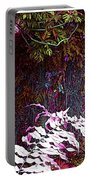 Jungle Red Tints Portable Battery Charger