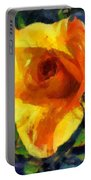 Jungle Rose Portable Battery Charger