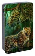 Jungle Spirit - Leopard Portable Battery Charger