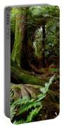 Jungle Trunks2 Portable Battery Charger by Les Cunliffe
