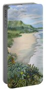 Jungle Waves Portable Battery Charger