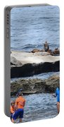 Junior Lifeguards And Sea Lions Portable Battery Charger