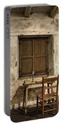 Junipero Serra Cell In Carmel Mission Portable Battery Charger