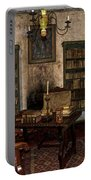 Junipero Serra Library In Carmel Mission Portable Battery Charger