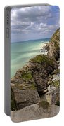 Jurassic Coast From Lulworth Cove Portable Battery Charger