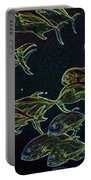 Mad Fish Abstract Portable Battery Charger