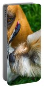 Just One Little Smooch Portable Battery Charger by Barry Jones