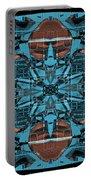 Kaleidoscope Flower 2 Portable Battery Charger