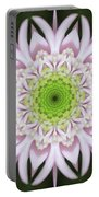Kaleidoscope Pink Daisy Portable Battery Charger