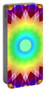 Kaleidoscope Rainbow Portable Battery Charger