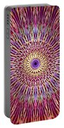 Kaleidoscope Retro  Portable Battery Charger