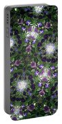 Kaleidoscope Violets 2 Portable Battery Charger