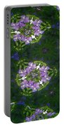 Kaleidoscope Violets Portable Battery Charger