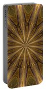 Kaleidoscope With Gold Portable Battery Charger