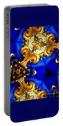 Kaleidoscopic Blues Fdl  Portable Battery Charger