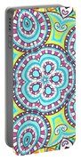 Kaleidoscopic Whimsy Portable Battery Charger