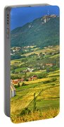 Kalnik Mountain Green Hills Scenery Portable Battery Charger