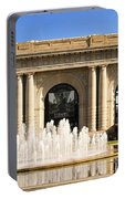 Kansas City Fountain At Union Station Portable Battery Charger