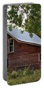 Kansas Hay Barn Portable Battery Charger