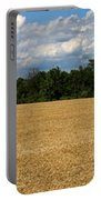 Kansas Wheat Field 5a Portable Battery Charger