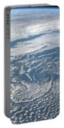 Karman Vortex Cloud Streets From Space Portable Battery Charger